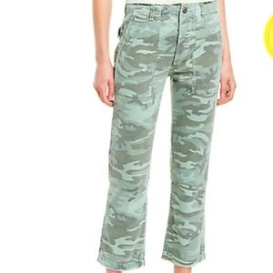 AMO Army Relaxed Rise Straight Leg Pant 24